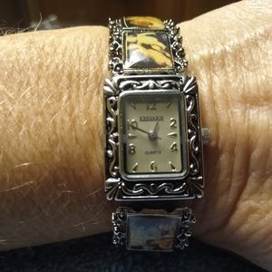 Kessaris Angel Panel Quartz Watch